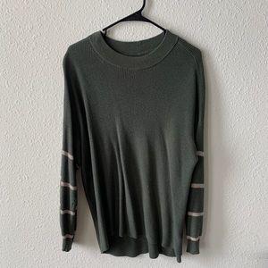 AE olive green sweater
